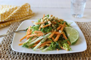 Spicy Sweet Potato Slaw